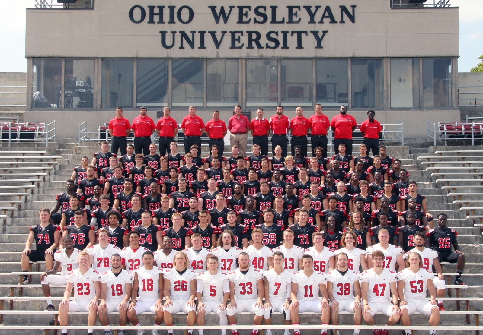 2016 0 Roster Ohio Wesleyan University Athletics